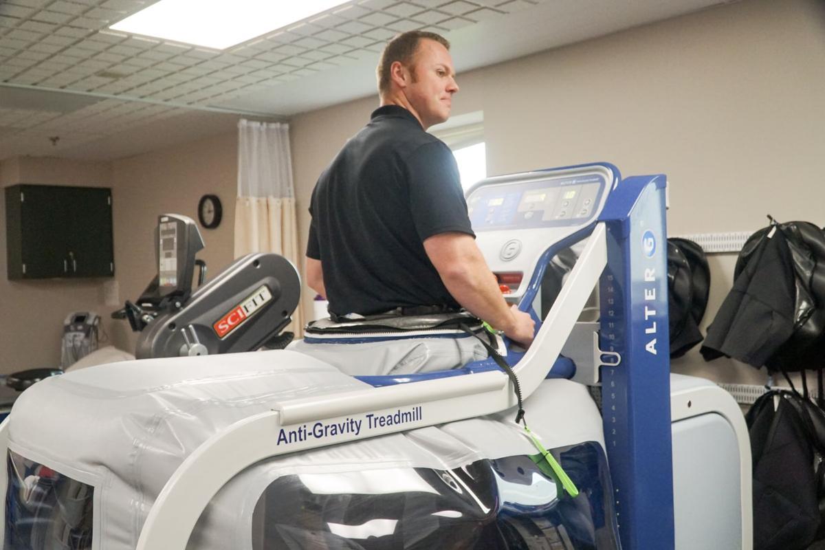 Anti-gravity treadmill speeds up healing