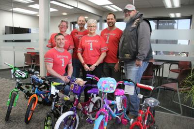 Gateway Realty donates bikes to Guardians of the Children event Saturday