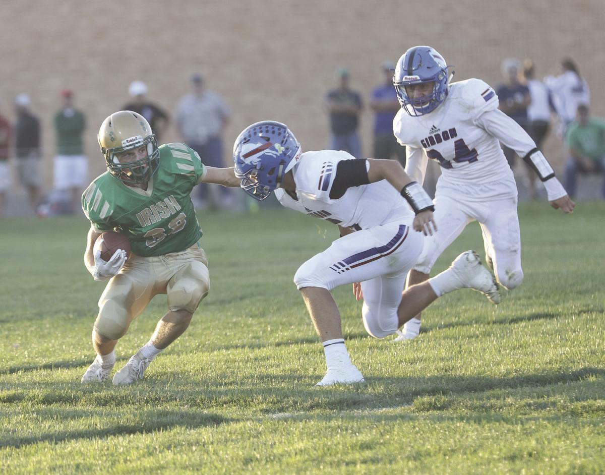 Defense, special teams key for St. Pat's in 21-7 victory over Gibbon