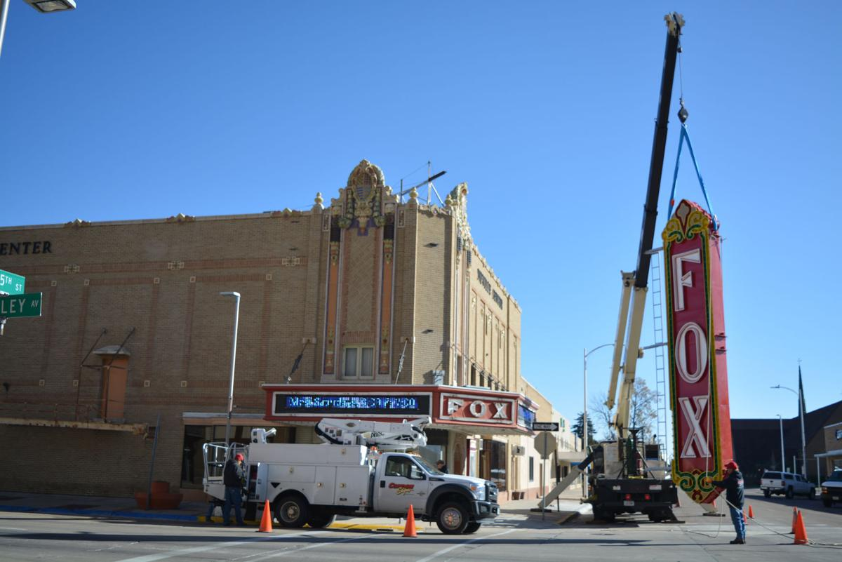 Fox Theatre's sign returns in time for its 90th birthday