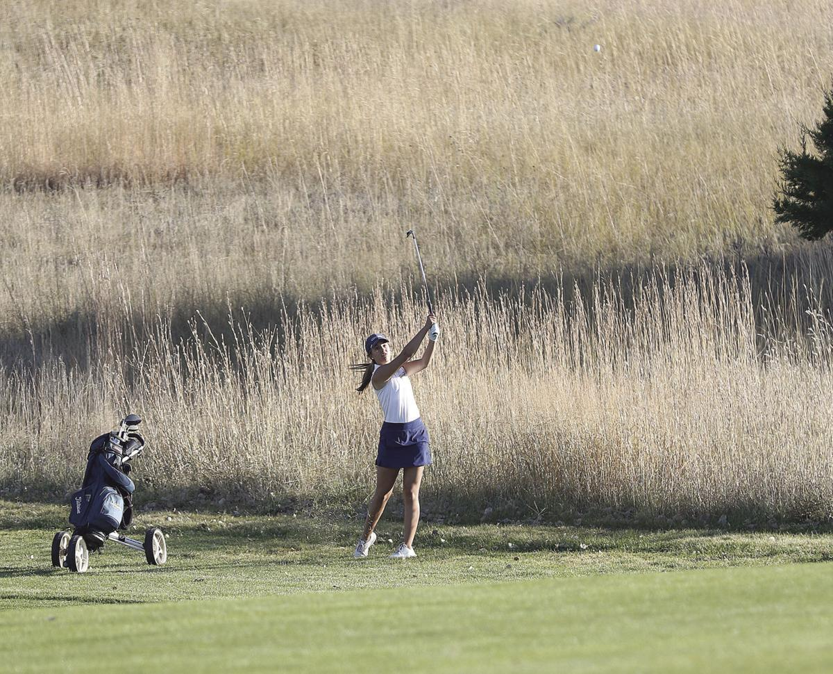 Lincoln Lutheran in lead after first round, Cozad's Lynzi Becker third individually