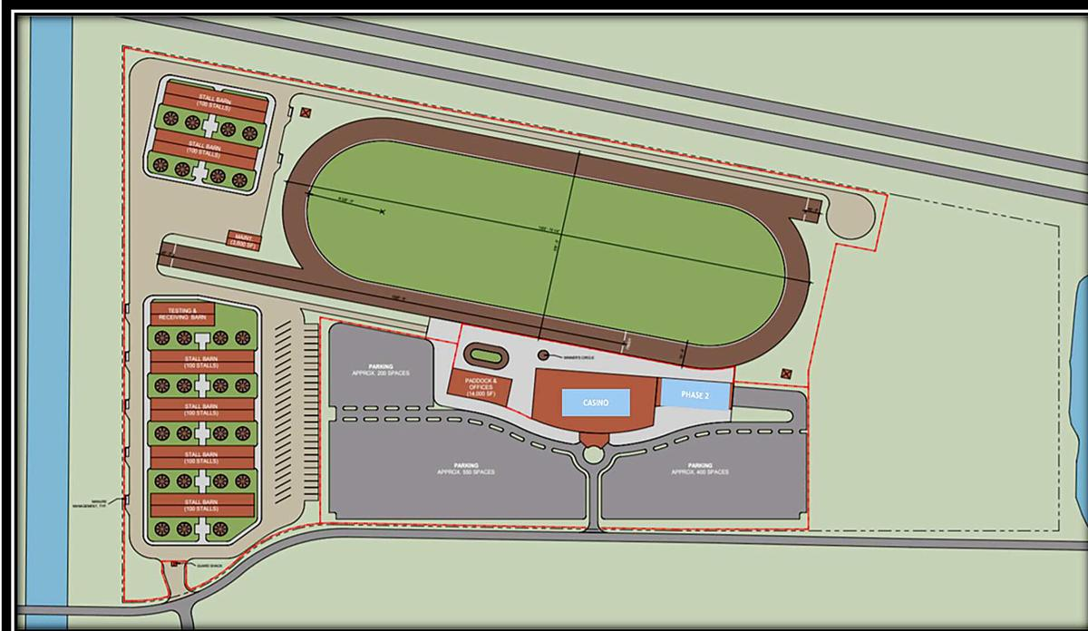 Horse race track proposal for North Platte includes plans for 32,000-square-foot casino