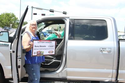 North Platte woman wins truck from lottery scratch ticket