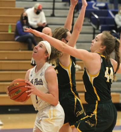 North Platte girls win close, boys fall against Kearney Catholic