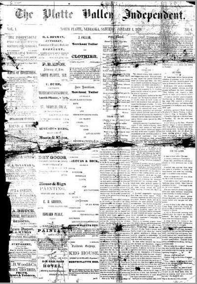 The bold story of North Platte's oldest surviving newspaper