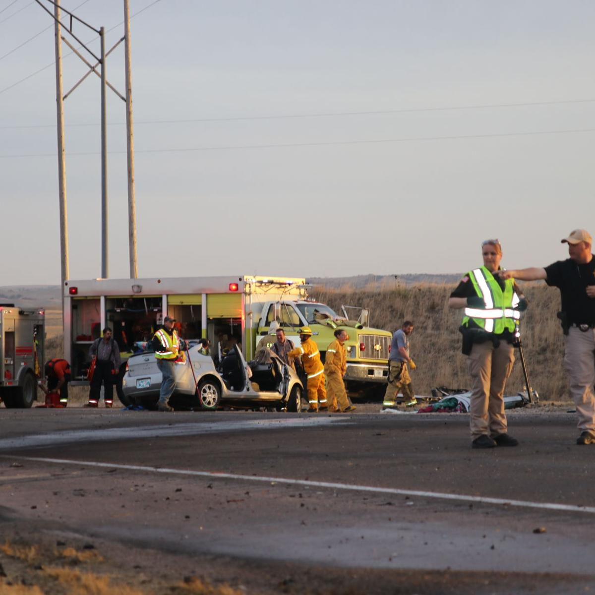 Four injured in collision | Local News | nptelegraph com