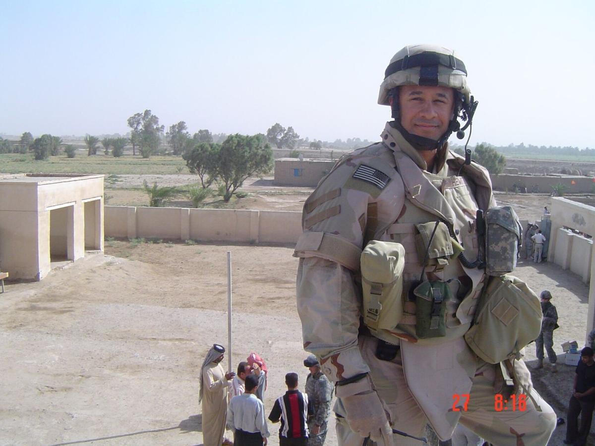 1st Lt. Russ Hewitt in Iraq 2006