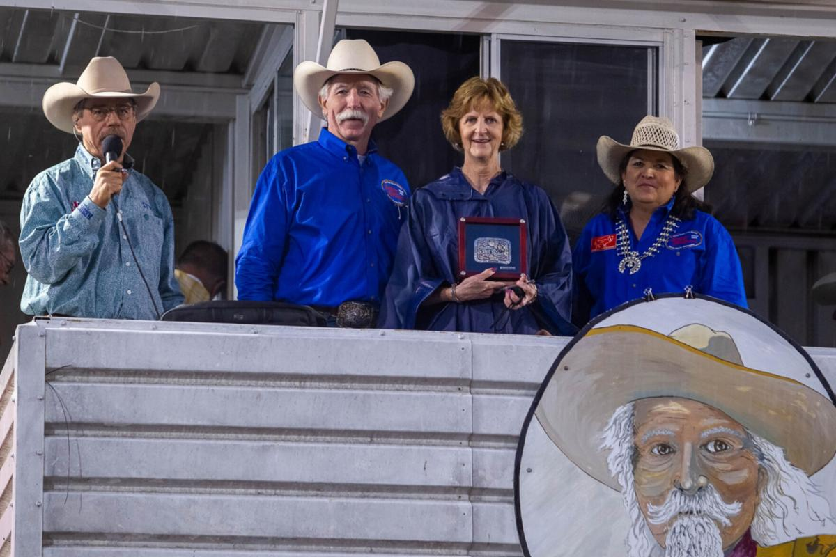 Rodeo secretary honored for nearly 50 years of service