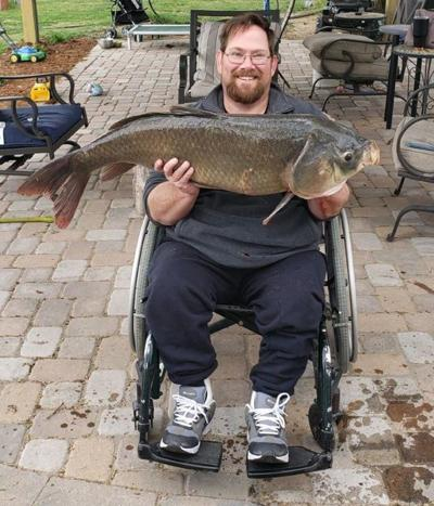 North Platte angler catches 32-pound bigmouth buffalo carp at Lake Maloney