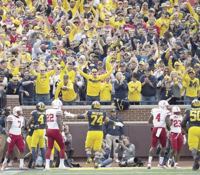 Big Housed; Huskers fall to 0-3 for first time in 73 years after 56-10 loss to Michigan