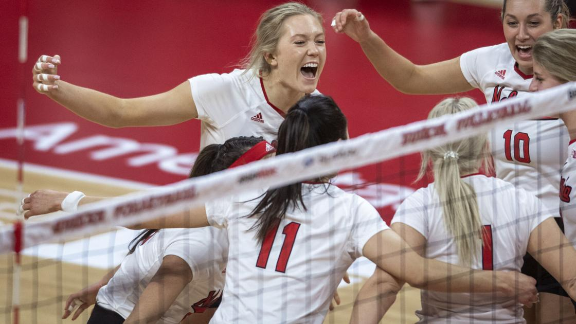 Did the Nebraska volleyball team improve from last season? John Cook has some thoughts about that