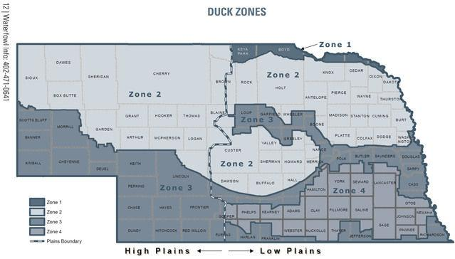 Duck Hunters Need To Know All Zones And Boundaries