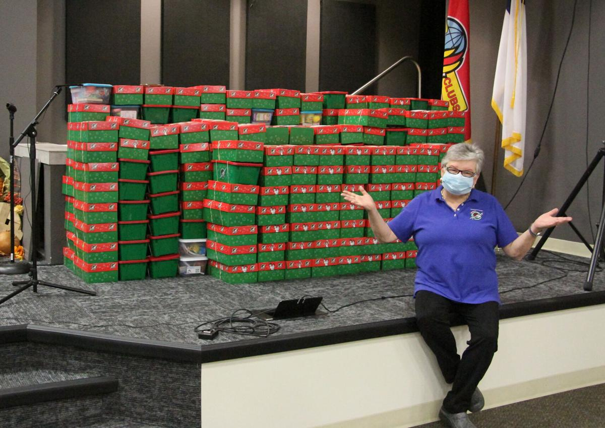 Operation Christmas Child to send boxes to 112 different countries