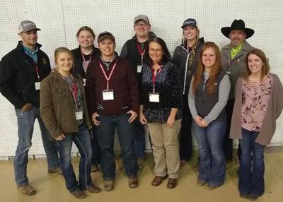 NCTA students attend range beef cow symposium