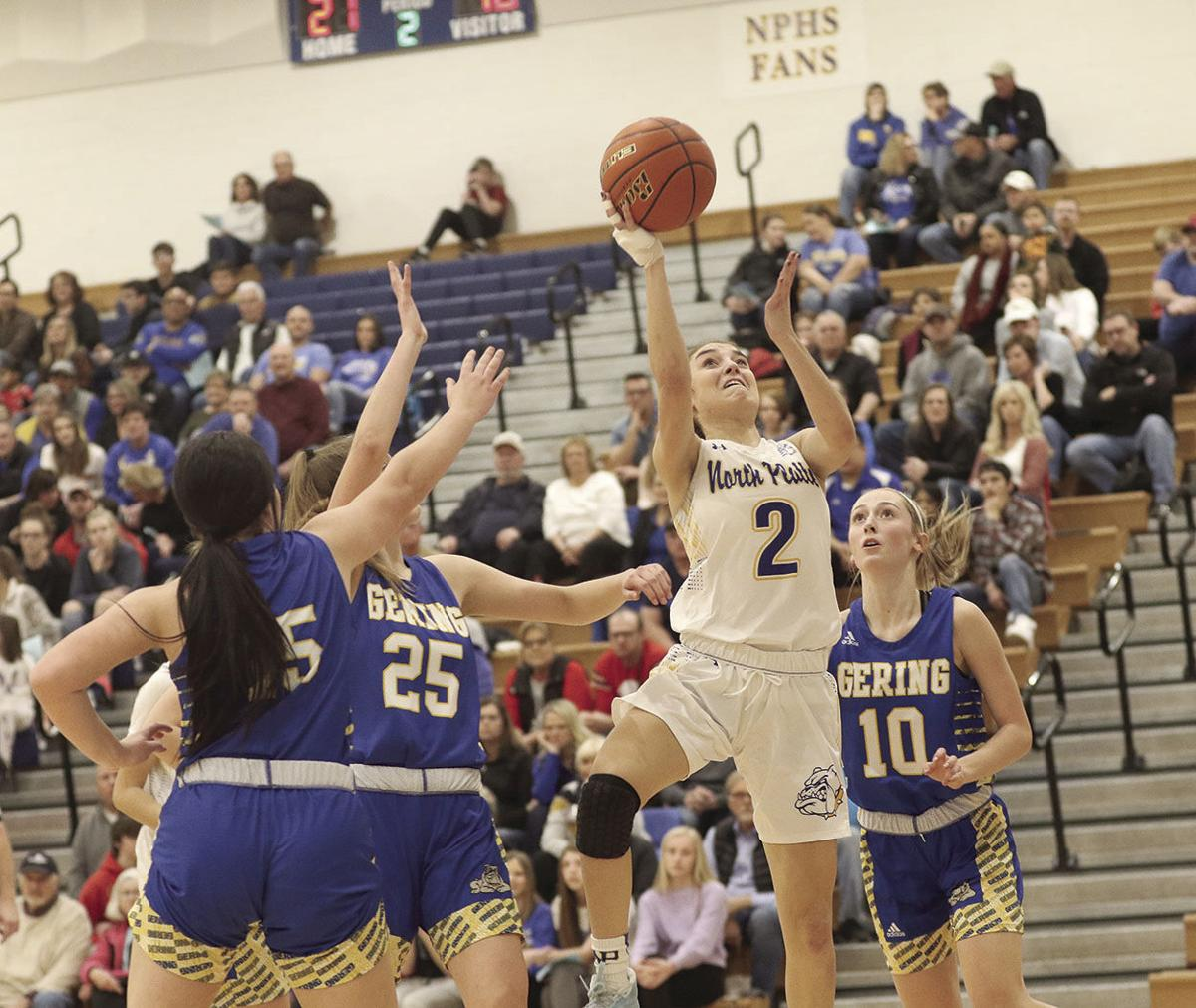 North Platte sweeps Gering, Haneborg reaches 1,000-point mark