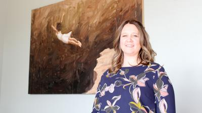'She's going for it': North Platte woman finds her voice in  training and consulting firm, podcast