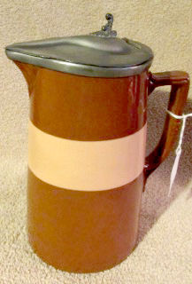 English Redware is a beautiful pottery that was made in the 1800s