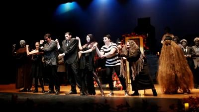 "A creep-y vic-tor-y: NPHS's one-act play production team headed to state with ""The Addams Family"""