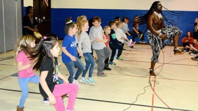 The rhythms of Senegal: African dance troupe helps educate at Jefferson Elementary