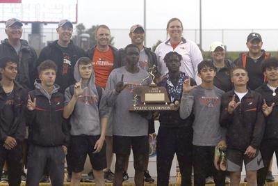 Lexington boys win first state track and field team title since 1988