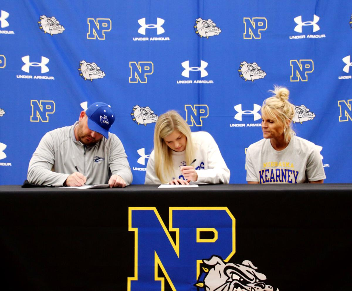 North Platte softball player Abby Orr signs with UT-Chattanooga; volleyball player Neff signs with UNK