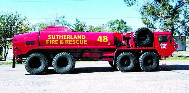 Sutherland Fire Dept Gets New Water Tanker News