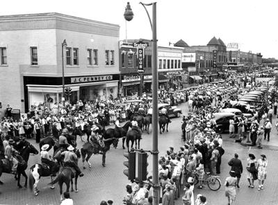 North Platte 1945 Parade