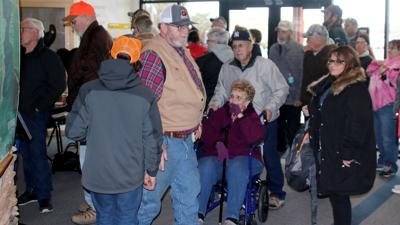 Hundreds pack open house to protest Lake McConaughy changes