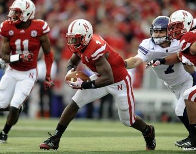 Nebraska vs. Northwestern football, 11.5.2011 13