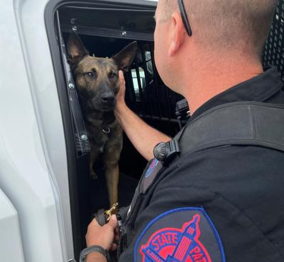 Nebraska State Patrol Trooper, canine partner 'here to support, be an asset for everybody'