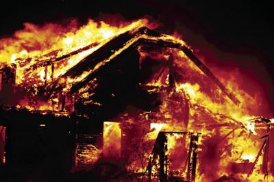 Rural home northwest of Overton destroyed in fire