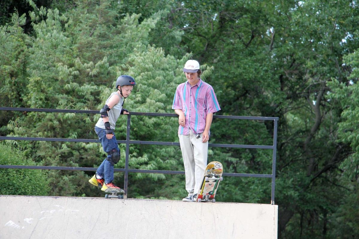 Growing his art: Brodie Lienemann hopes to improve skate park, teach others