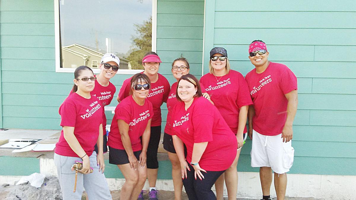 Wells Fargo Staff Helps Habitat Paint Two Houses Life