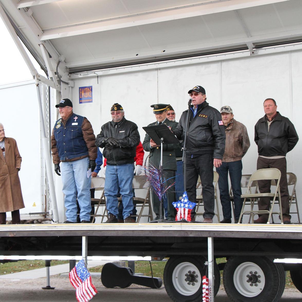 Veterans Day Memorial Ceremony, 2018