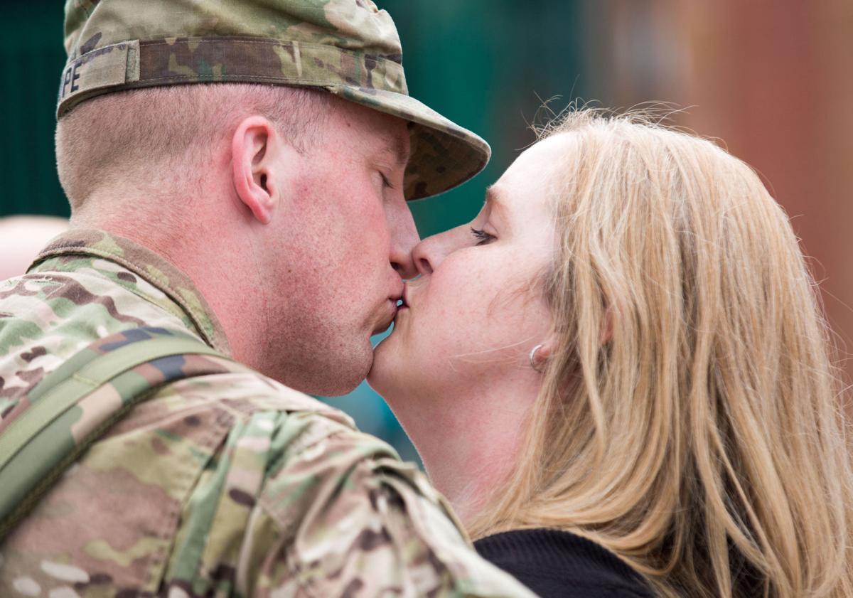 90 Nebraska National Guard soldiers return from Iraq