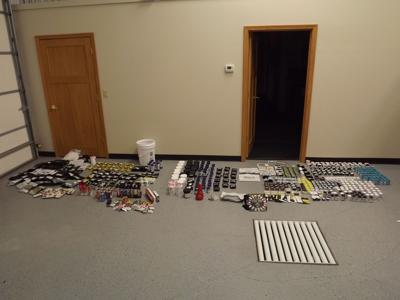 Minnesota man arrested after traffic stop search finds hundreds of THC products in vehicle