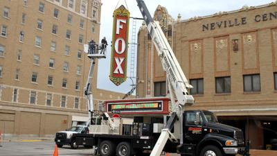 'Fox' sign makeover kicks off celebration