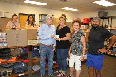 North Platte High Sschool pantry receives $3,500 donation from Lake Maloney Light Fund Committee