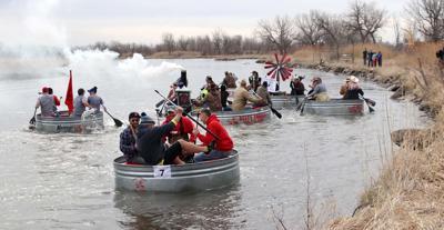 An early-season float trip