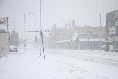Snow problem: Second storm in a month hits western Nebraska