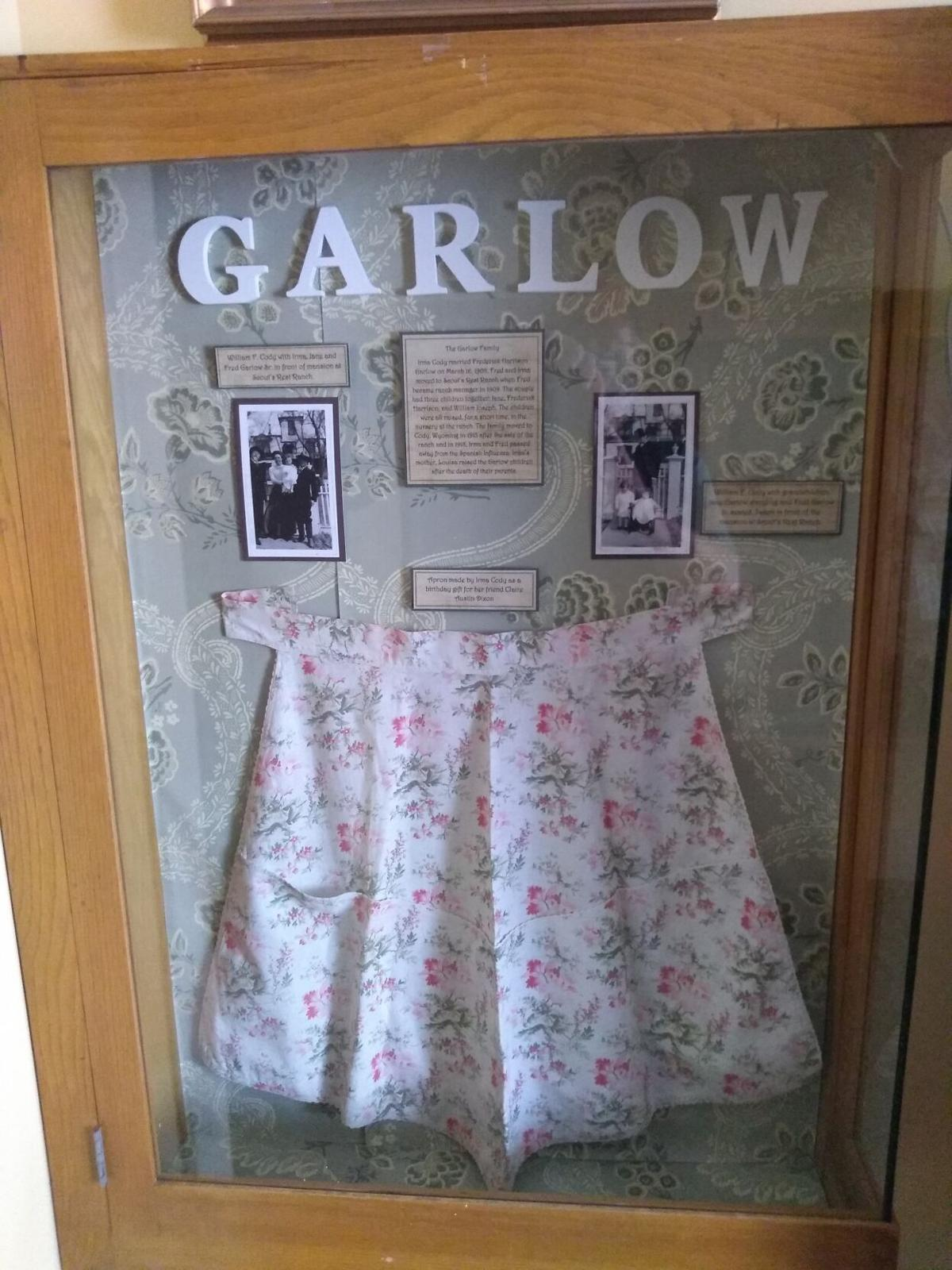 Garlow family display, 2nd floor, Scout's Rest Ranch mansion.jpg