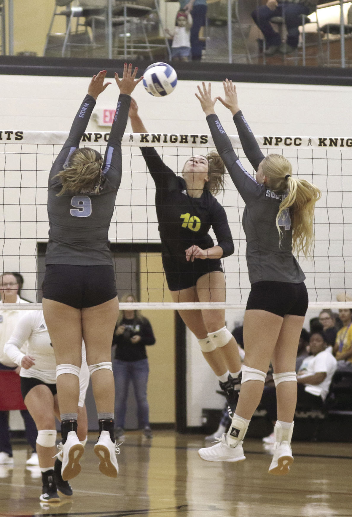 Atop Region IX: Knights cruise in sweep of Southeast Community College