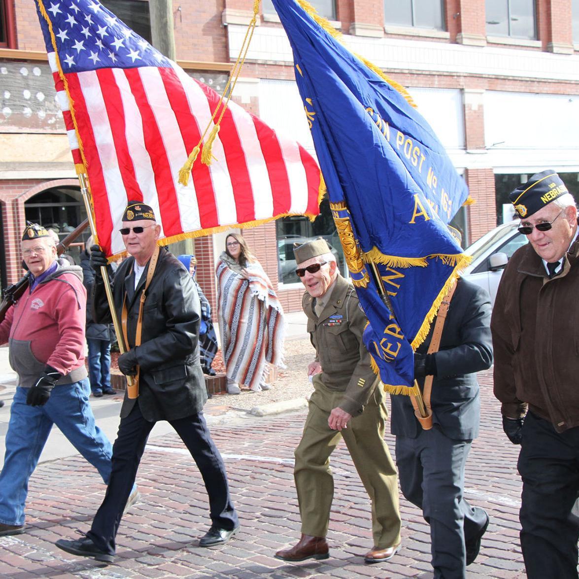 North Platte Veterans Day Parade 2018
