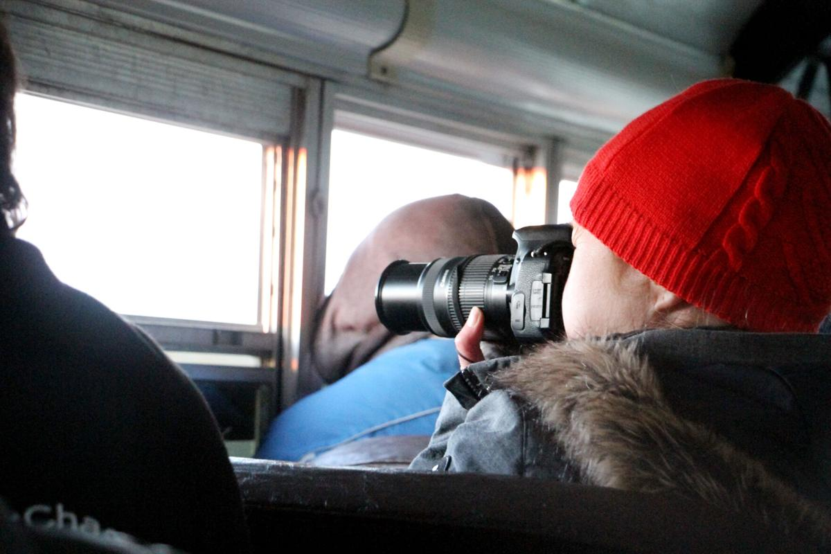 After year away, travel writers return to North Platte to watch sandhill cranes, prairie chickens