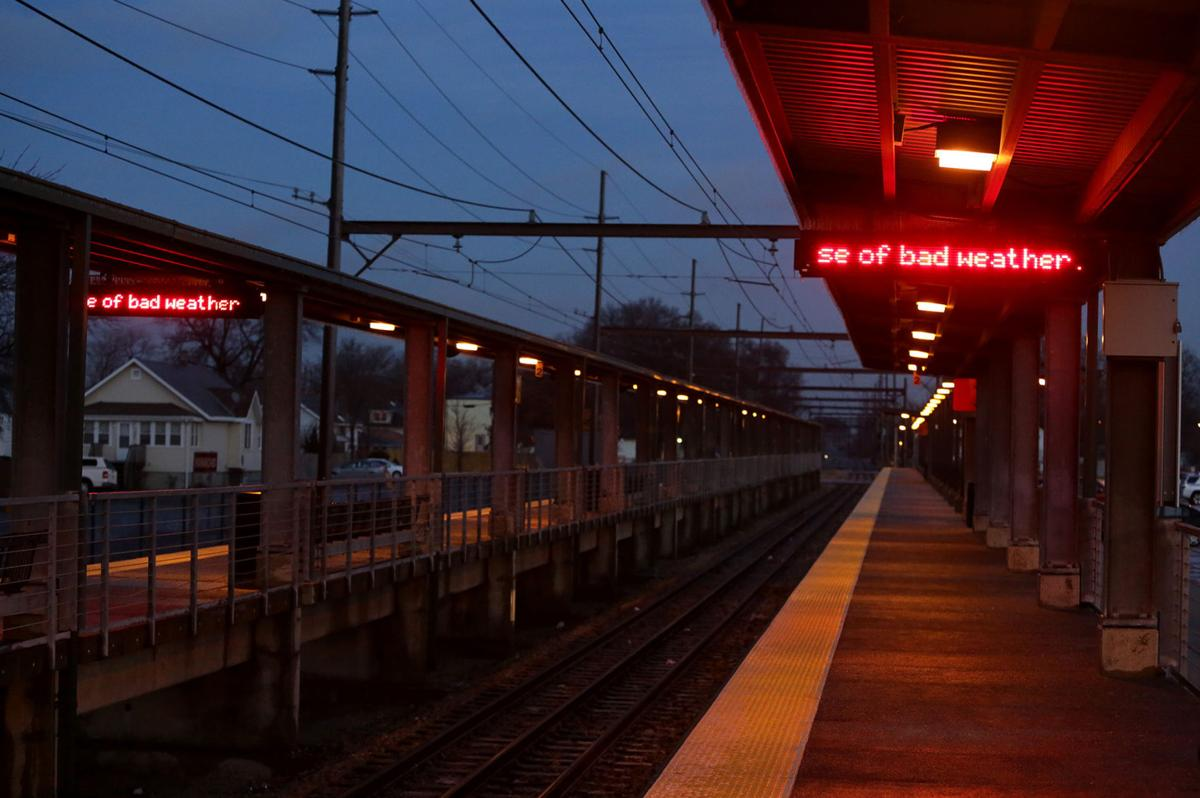 South Shore Line service suspended