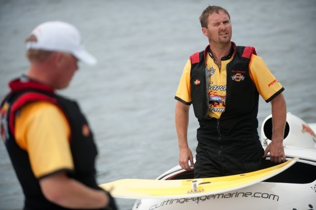 Superboat races in Michigan City