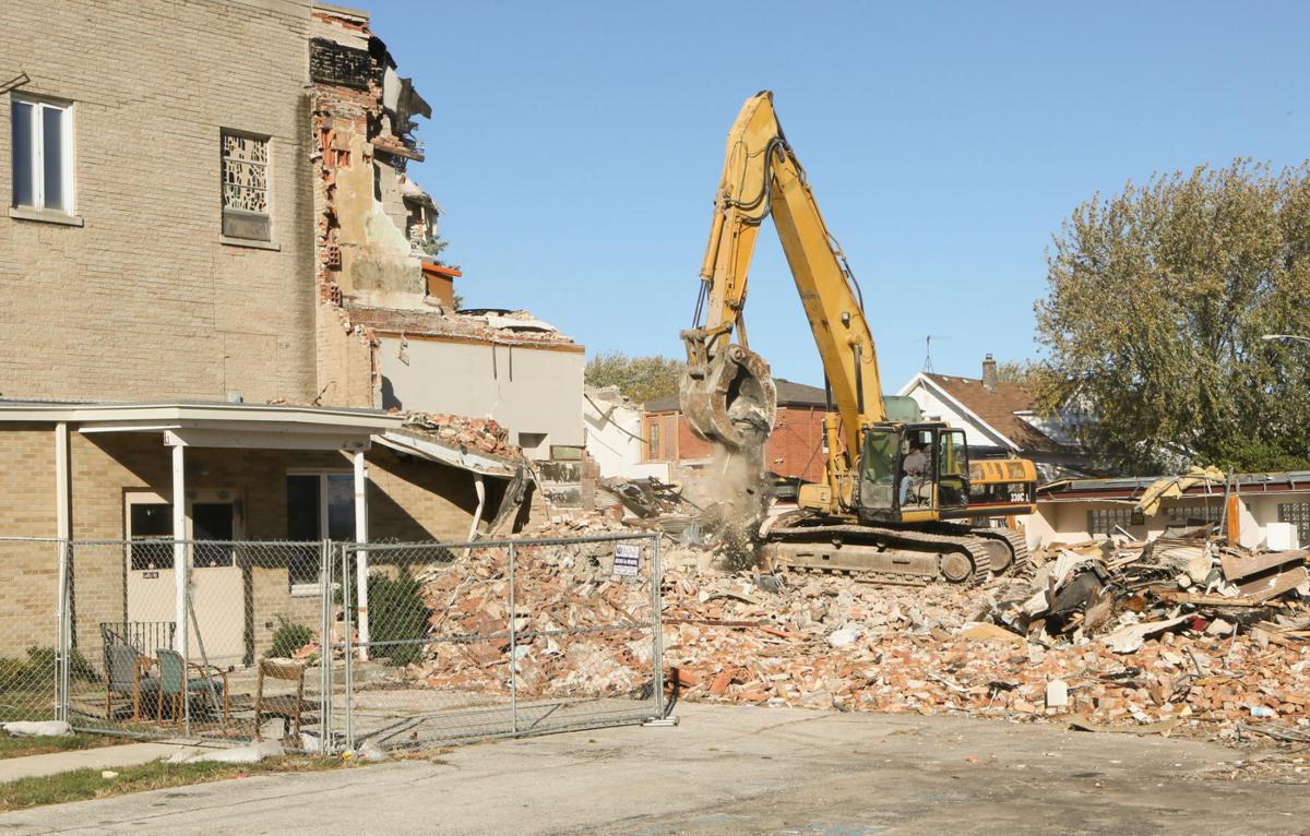 Former Carmelite Home for Boys/St. Joseph Home for Boys Inc. is demolished