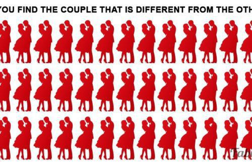 How Fast Can You Find The Couple That Is Different?