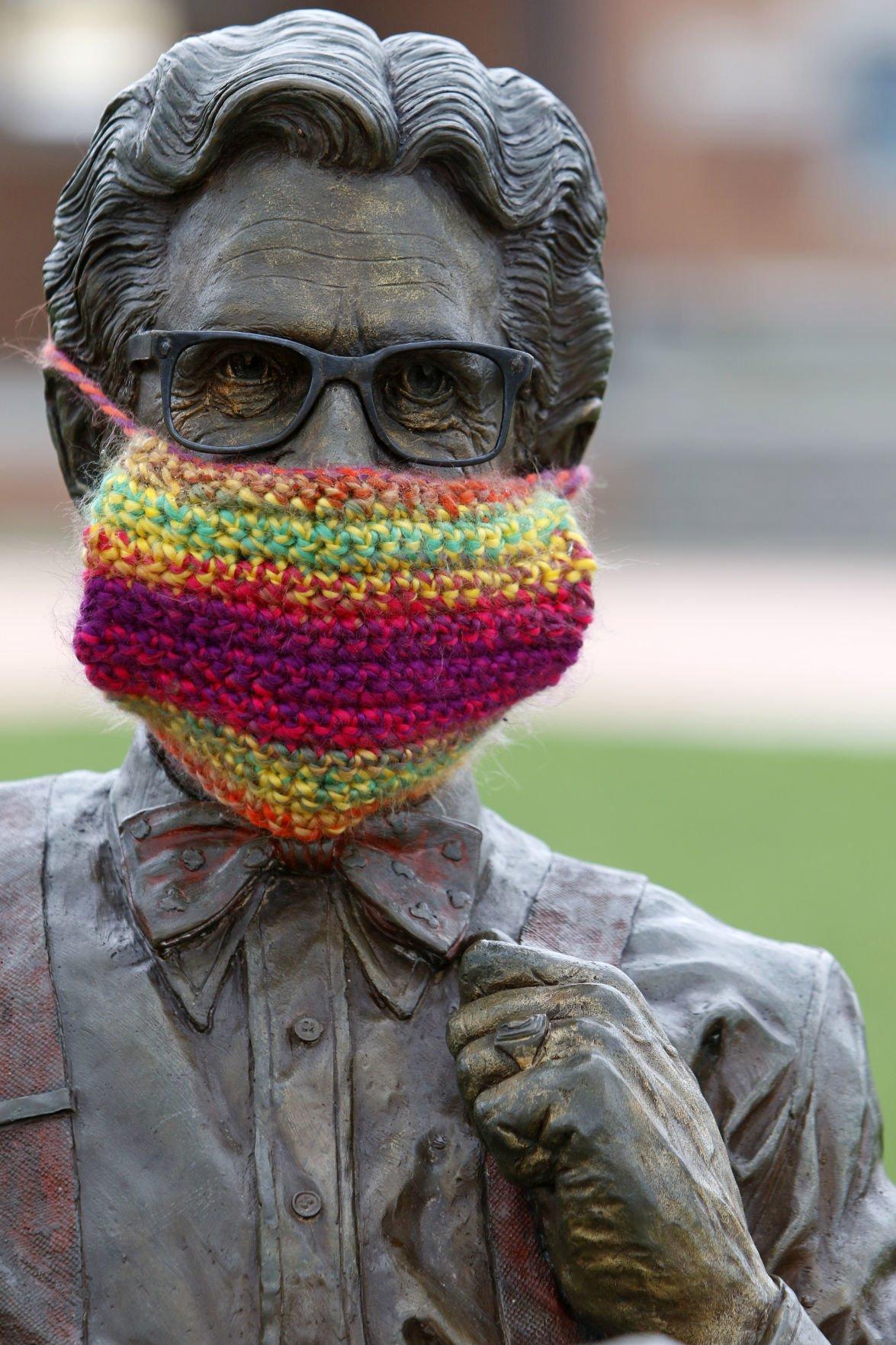 Orville Redenbacher statue FILE PHOTO