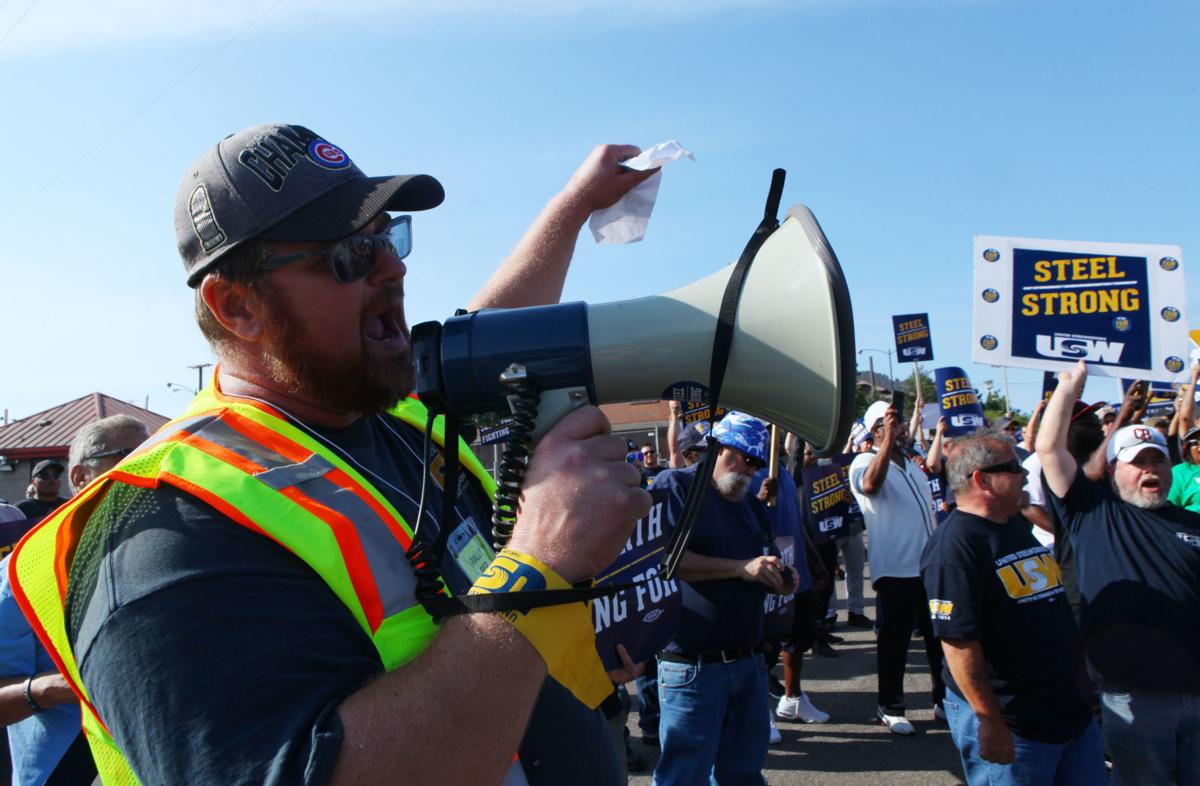 USW alleges U.S. Steel 'playing a dangerous game of chicken'